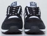 Мужские кроссовки Adidas zx500, black / white