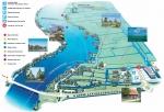 Карта музея мельниц Zaanse Schans