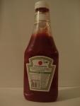 Бутылка кетчупа Heinz Томатный, вид сзади