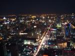 Ночной вид на Бангкок с башни Baiyoke Sky
