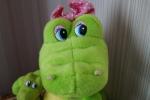 Мордочка мягкой музыкальной игрушки Lava Крокодил-мама с малышом