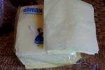 Упаковка бумажных салфеток Almax желтых