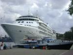 В Севастополь часто приходят иностранные круизные лайнеры
