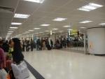 Трансфер из Гонконга в Макао на Cotai Jet - прохождение паспортного контроля на отплытии