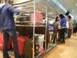 Трансфер из Гонконга в Макао на Cotai Jet - специальное отделение для крупногабаритного багажа
