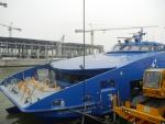 Трансфер из Гонконга в Макао на Cotai Jet - сам корабль