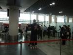 Аэропорт Макао в Китае - серьезная проверка пассажиров