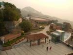 Пик Виктория в Гонконге - вид со смотровой площадки в другую сторону