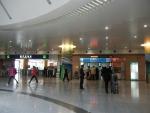 Аэропорт Пудун в Шанхае - билетные кассы на Маглев