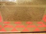 Печенье Юбилейное традиционное - информация на обратной стороне упаковки