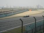 Гран При Формулы 1 в Шанхае - гоночные болиды проезжали совсем близко