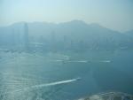 Вид со смотровой площадки Sky100 в Гонконге