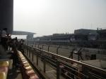 Гран При Формулы 1 в Шанхае - на билетах указаны места, но рассадка на месте практически свободная