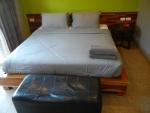 Большая кровать в аппартаментах - отель Memory Patong