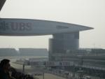 """Гран При Формулы 1 в Шанхае - вид с трибуны """"А"""""""