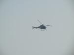 Гран При Формулы 1 в Китае - над трассой постоянно кружил вертолет