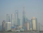 Вид с набережной Вайтань в Шанхае
