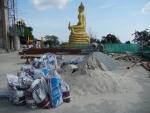 Большой Будда на Пхукете - стройка в полном разгаре