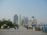 Город Шанхай - очень красивая и хорошо обустроенная набережная
