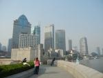 Город Шанхай - на набережной