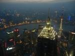Город Шанхай - ночью город прекрасен!