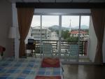 Вид из окна отеля Orchid Residence