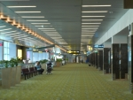 Аэропорт Чанги в Сингапуре - очень просторные залы!