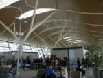 Аэропорт Пудун в Шанхае - местами довольно красивый