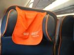 Рейс Шанхай-Москва Аэрофлотом - в спинках есть специальные подпорки для головы