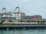 Мост на остров Сентоза в Сингапуре