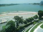 Колесо обозрения Singapore Flyer в Сингапуре - совсем рядом находится трасса Формулы 1
