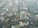 Панорама с небоскреба Baiyoke Sky Hotel