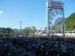 Торговый центр Central Festival на Пхукете - большая парковка для скутеров