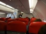 ЭйрЭйша рейс Куала-Лумпур - Гонконг, после посадки в самолет пришлось ждать еще минут 20-30