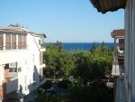 Отель Meltem 2* (Турция, Анталия) - вид из окна на море