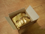 Сырок в молочном шоколаде Б.Ю. Александров - внутри сырок упакован еще раз