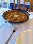 Паэлья с морепродуктами в ресторане El Bobo (Валенсия)