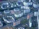 Москва из иллюминатора