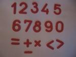 Цифры и знаки