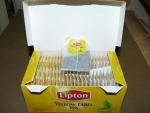 Открытая упаковка Липтон