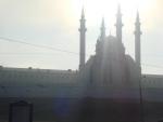 5 утра. Утро встает над Казанью.