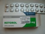 """Обезболивающее """"Кеторол"""" в таблетках"""