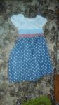 Детское платье, которому я отпорола бант