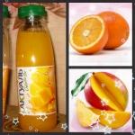 Напиток сывороточный пастеризованный с соком апельсина и манго Актуаль
