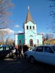 Храм Приподобного Онуфрия Великого,  находится близ санатория Кубань.