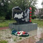 монумент в память пограничникам