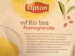 Чай Липтон, белый с гранатом, описание от производителя