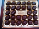 Шоколадные конфеты Roshen ассорти, вид