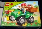 "Lego Duplo ""Фермерский квадроцикл"" 5645, коробка"