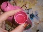 гель розового цвета с малиновым ароматом